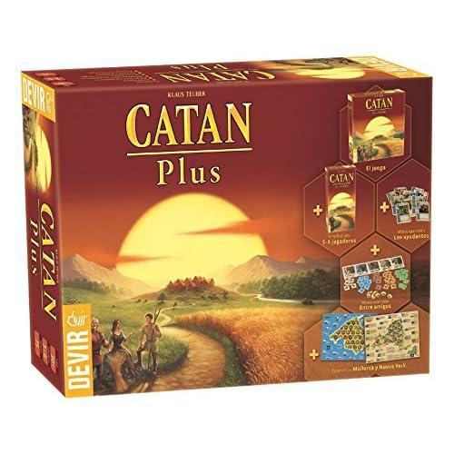 Devir - Catan Plus, juego de mesa (BGCATPLUS): Amazon.es: Juguetes ...