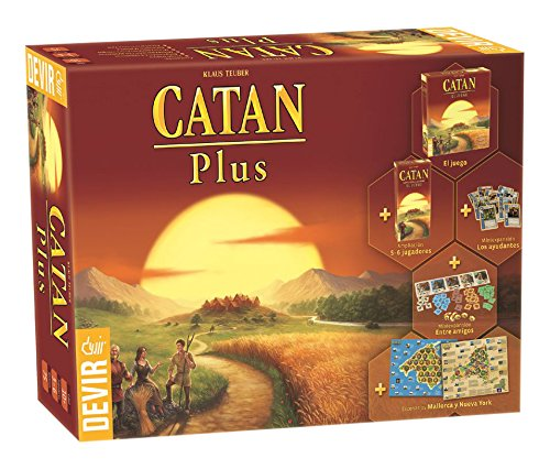 Comprar juego de mesa: Devir - Catan Plus, juego de mesa (BGCATPLUS)
