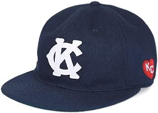 Big Boy Headgear Kansas City Monarchs Heritage Wool Cap Navy