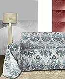 Byour3® - Funda de sofá - Motivo Navideño - Funda de sofá para 3, 4 y 5 plazas - Confeccionada en algodón ideal para sofá, sofá con chaise longue derecho/izquierdo