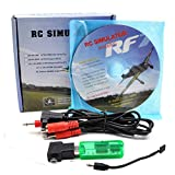 PONATTENO 22 in 1 無線 RCフライトシミュレータケーブル スマホと接続可能 Realflight G7 Phoenix 5 FMS XTR Aerofly VRC対応ドングル+ケーブル 初心者練習用