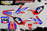 Kit DE Adhesivos HONDA CRF 450 2005-2008 Sticker ADESIVI