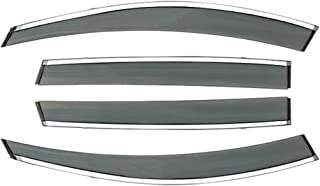f/ür die Fahrer und Beifahrerseite-CLS003P0104D passend f/ür KIA PRO CEED Kombi 2019- Dunkles Material 5-Door TYP CD 1 Set Vordere Windabweiser