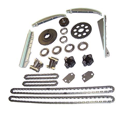 DNJ TK4164 Timing Chain Kit for 2003-2005 / Ford, Lincoln, Mercury/Aviator, Marauder, Mustang / 4.6L / DOHC / V8 / 32V / 281cid / VIN R, VIN V