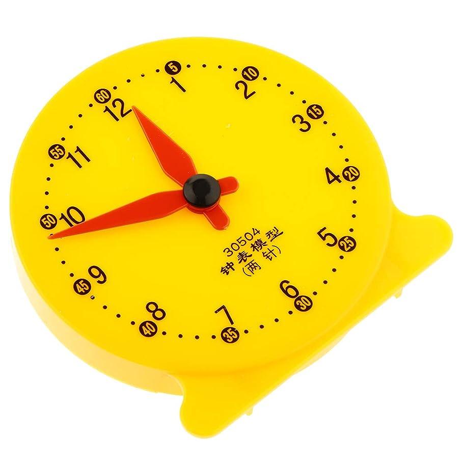 後者いたずら患者時計モデル 時間クロック 赤ちゃん 早期学習 学生教材 文房具 教育補助