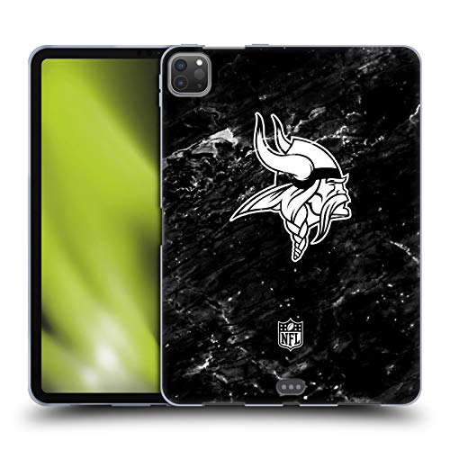 Head Case Designs Officially Licensed NFL Marble 2017/18 Minnesota Vikings Soft Gel Case Compatible with Apple iPad Pro 11 (2020)