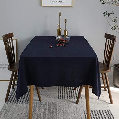 Nordic Solid Tafelkleed Home Japanse Stijl Salontafel Cover Handdoek Eettafel Doek Tafelkleed 140X140cm