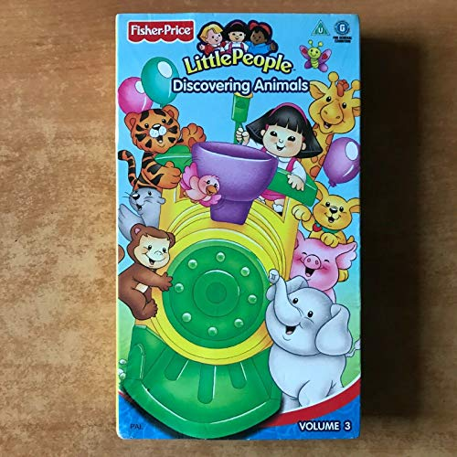 Fisher Price Little People Volume 3: Discovering Animals (Claymation) #77972