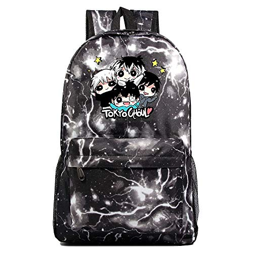 XYUANG Tokyo Ghoul Starry Sky Color Backpack School Casual Daypack Rucksack Business College Travel-f