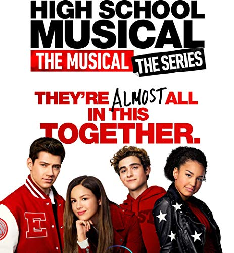 24inch x 26inch/60cm x 65cm High School Musical The Musical The Series Season 1 Silk Poster Christmas Gift For Family Best Gift For Childrenr