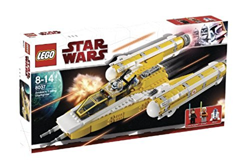 LEGO - 8037 - Jeu de construction - Star Wars - Clone Wars - Anakin's Y-wing Starfighter