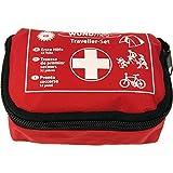 Set de primeros auxilios para senderismo, ciclismo, viajes, motocicleta, coche, ocio, hogar, vacaciones, material de vendaje