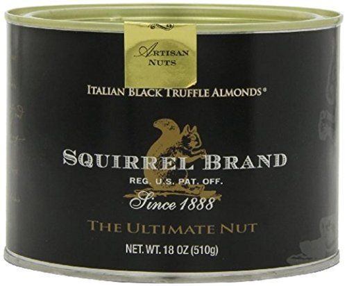 Squirrel Brand Italian Black Truffle Almonds 18 Ounce (2 Pack)