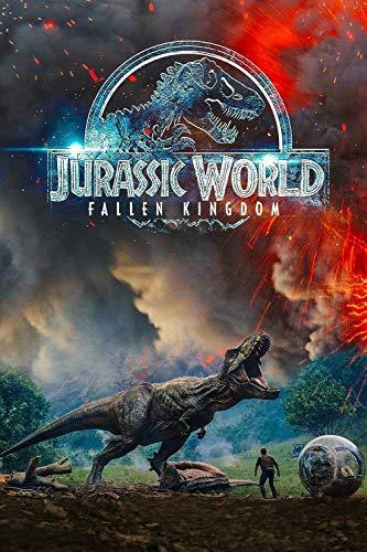 Mutuco Puzzle 1000 Piezas,Afiches de películas de Jurassic World: Fallen Kingdom,Puzzle Creativo,Puzzle 1000 Piezas Adultos,Rompecabezas Puzzle Adultos,Puzzle Grandes Adultos