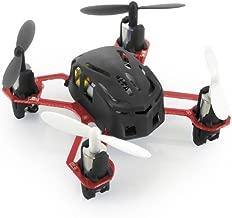 HUBSAN H111 Nano Q4 4-Channel 6 Axis Gyro Mini RC Quadcopter with 2.4Ghz Radio System Mode 2 RTF- Carton Case Black