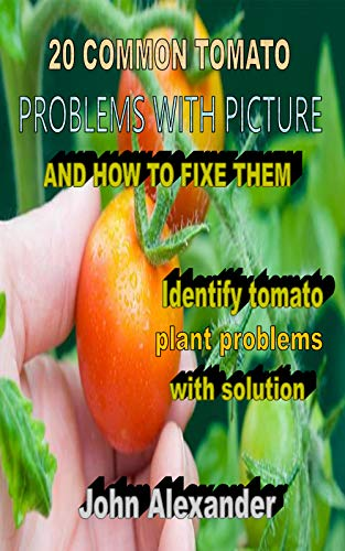 20 COMMON TOMATO PROBLEMS WITH PICTURE AND HOW TO FIXE THEM: Identify tomato plant problems with solution (English Edition)