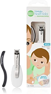 NailFrida The SnipperClipper Set by Fridababy – The Baby Essential Nail Care kit for Newborns and up