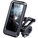 DesertWest Bike Phone Holder Universal Waterproof Cell Phone Holder for Motorcycle - Bike Handlebars, Bicycle...