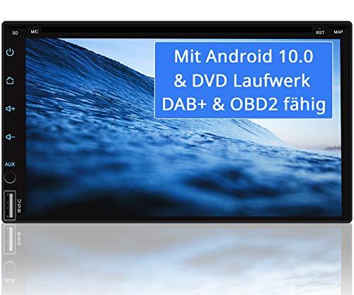 Tristan Auron BT2D7018A-DVD Android 10 Autoradio mit Navi - 7