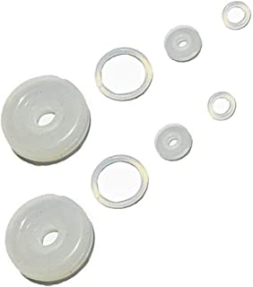 2 Sets Universal Electric Pressure Cookers Accessory Home Kitchen Silicone Gasket Sealing Ring