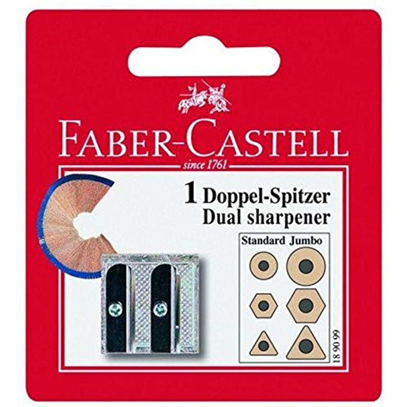 Faber Castell 189099 Metal Double Sharpener