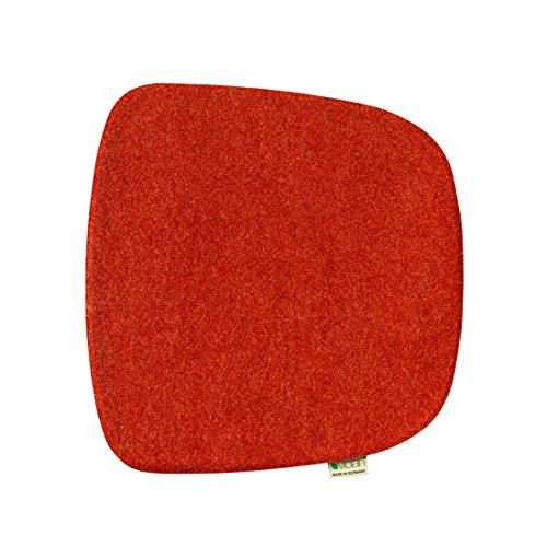 Violan Sitzkissen Eames Armchair, Cherry-red