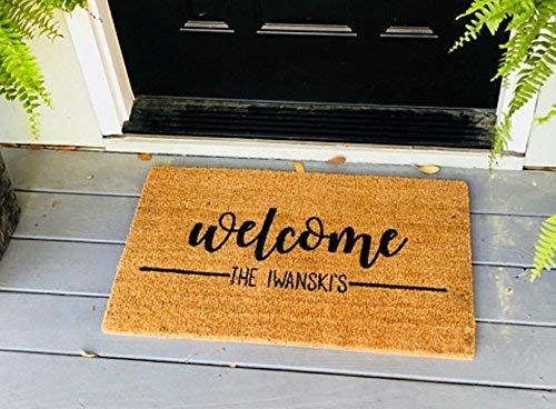 Country Barn Babepersonalized Welcome Doormat Welcome Mat Welcome Door Mat Cute Doormat Funny Doormat Personalized Doormat Personalized Door Mat Dailymail