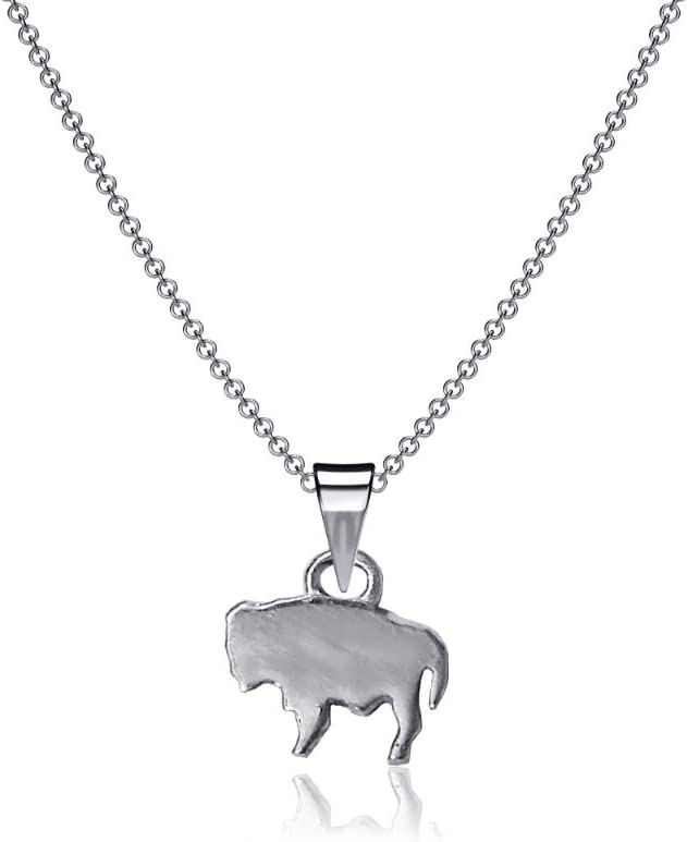Dayna Designs Buffalo Silver 100% quality warranty Necklace 16 Neckl Solid National uniform free shipping Inch