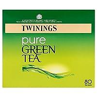 1パックトワイニング純粋な緑茶80 - Twinings Pure Green Tea 80 per pack [並行輸入品]