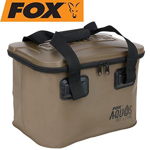 FOX Aquos Eva Bag 20l - Tackletasche zum Karpfenangeln, Angeltasche zum Angeln auf Karpfen, Tasche für Angelzubehör, Ködertasche
