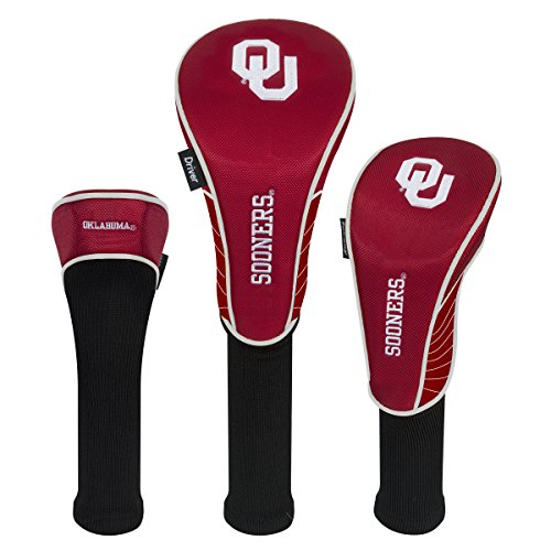 Team Effort Oklahoma Sooners Set of Three Headcovers