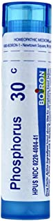 Boiron Homeopathic Medicine Phosphorus, 30C Pellets, 80-Count Tubes (Pack of 5)