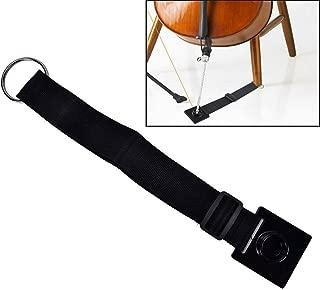 Imelod Cello Stopper Endpin Anchor Antiskid Device Non-slip Endpin Stopper Holder Stand (Black)