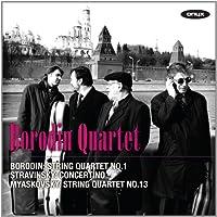 Borodin/Stravinsky:String Quar
