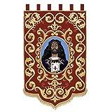 Estandarte personalizado con imagen religiosa