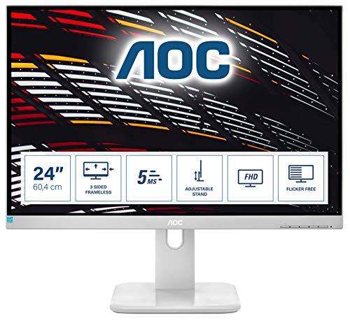 AOC Pro-Line 24P1/GR LED Display 60,5 cm (23.8) Full HD Plana Negro - Monitor (60,5 cm (23.8), 1920 x 1080 Pixeles, Full HD, LED, 5 ms, Negro)