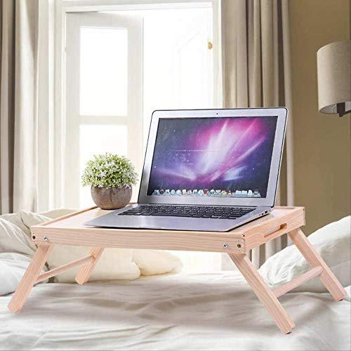 Mesa de noche plegable multifuncional para portátil, mesa de desayuno, aperitivos, se puede utilizar para leer el dormitorio