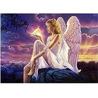 天使の羽の風景-ジグソーパズル、大人のための1000ピースのジグソーパズルジグソー、DIYジグソーパズル高難易度パズル-家族向けゲームギフト教育パズルボーイギフト