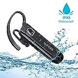 Best Bluetooth Phone Earpieces - Bluetooth Earpiece for Cellphone, IPX5 Waterproof, 16 Hrs Review
