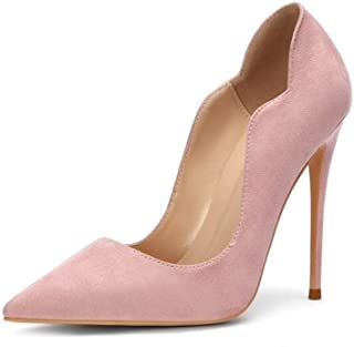 Fashion Pointed High Heels For Banquet Wedding Dress Daily (Color : Pink, Size : 40)