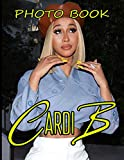 Cardi B Photo Book: An Adult 20 Image And Photo Pages Book Book
