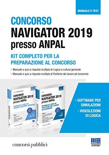 Concorso Navigator 2019 presso ANPAL. Kit completo per la preparazione al concorso. Tomo I e Tomo II