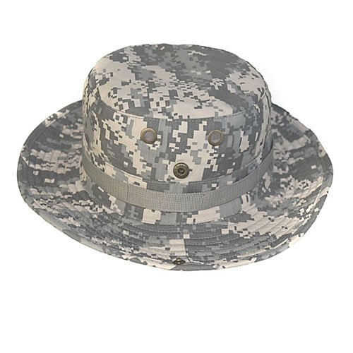 Elife Men's Military Tactical Head Wear/Boonie Hat Cap For Wargame,Sports,Fishing &Outdoor Activties (ACU)