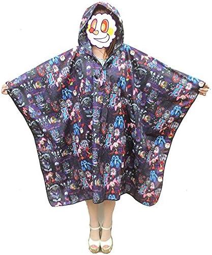 Der Film Magical Girl Madoka Magica  Regen-Poncho Hexe Muster