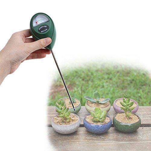 Jiamins Boden Feuchtigkeit Tester Luftfeuchtigkeit Meter Detektor Garten Pflanze Blume Testen Werkzeug