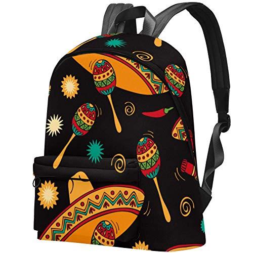 Percussion Instrument Laptop Rucksack Reiserucksack Große Tasche Schulrucksack für Damen, Kinder und Herren