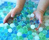 SENSORY4U Water Beads Ocean Breeze (8oz Bag Thousands of Beads) 5 Colors - Dew Drops A Tactile Sensory Beads Experience -