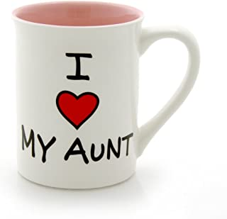 "Our Name is Mud""I Heart My Aunt"" Stoneware Mug, 16 oz."
