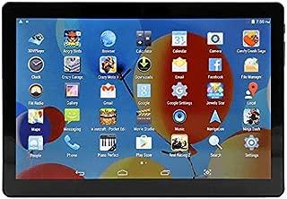 Tablet 10 Inch, 64GB, 4G LTE Dual Sim, Dual Cam, Dual Core 1.5GHz, Bluetooth, Black