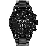 Nixon Orologio da Uomo Cronografo al Quarzo con Cinturino in Acciaio Inox – A386-001_Black
